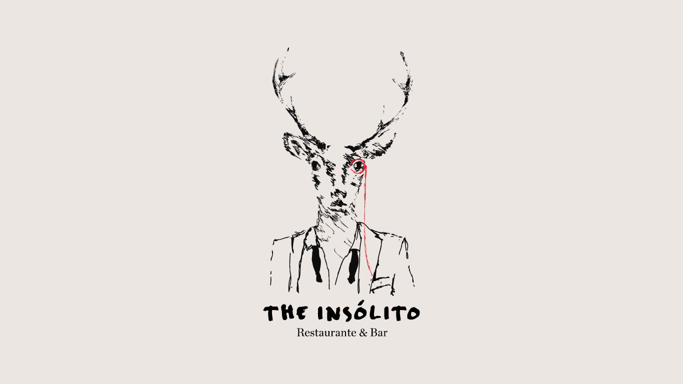 The Insólito logotype by Miguel Guedes Ramos